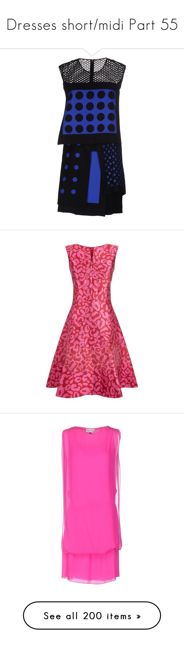 """Dresses short/midi Part 55"" by leanne-mcclean ❤ liked on Polyvore featuring dresses, black, mini tube dress, sleeveless dress, short tube dress, zipper dress, zipper mini dress, oscar de la renta dresses, circle skirt and jacquard dress"