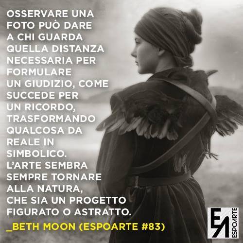 Scopri #Espoarte83 ora in edicola. C'è anche l'intervista di Alice Zannoni a Beth Moon.  L'artista  statunitense è in mostra a #Bologna da L'Ariete Artecontemporanea fino al 30 marzo...