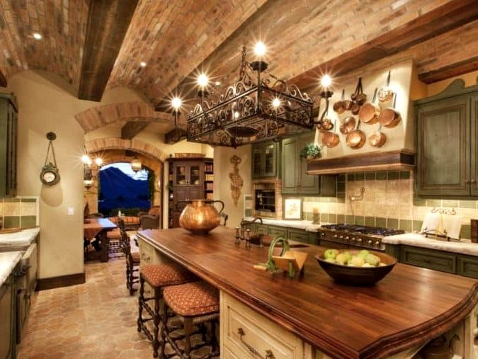 25 Concepts For Tuscan Model Kitchens In 2020 Tuscan Kitchen Design Italian Kitchen Design Tuscan Decorating Kitchen