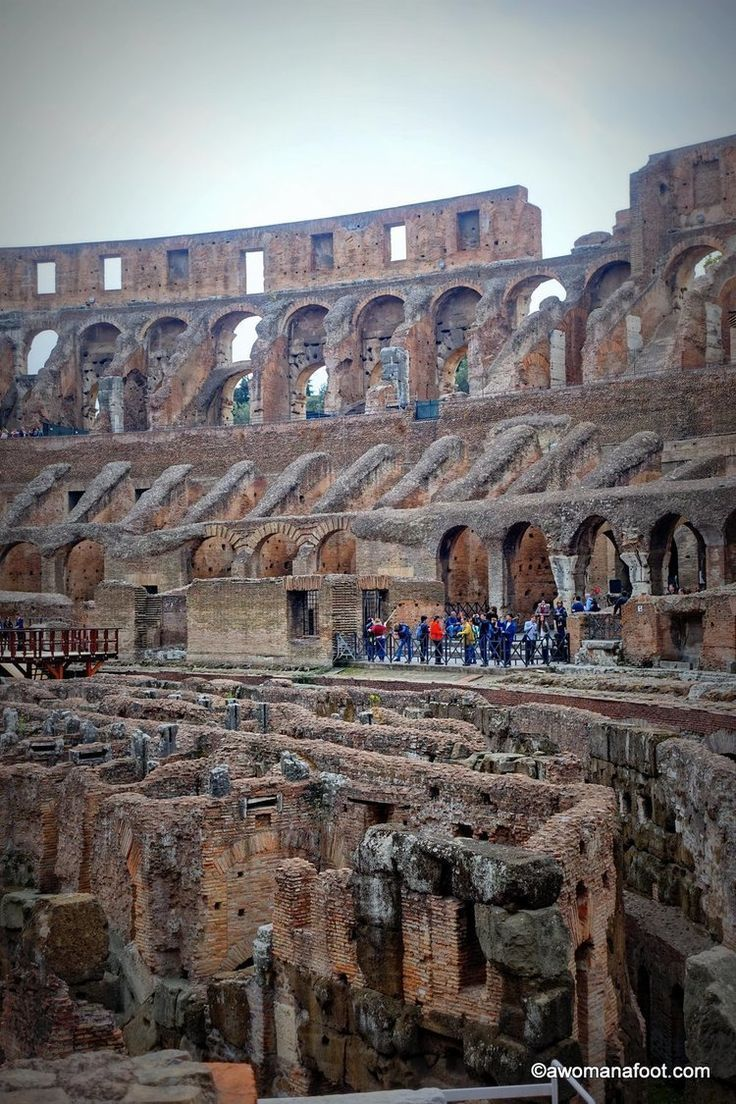 Colosseum: the symbol of Ancient Rome. What is it like to finally see with your own eyes? Read to find out. | Rome | Italy | Must-see in Rome | What to do in Rome | Ancient Architecture | Europe | travel| Awomanafoot.com #ancientarchitecture