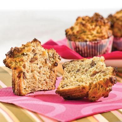 Muffins nutritifs aux bananes et dattes - Recettes - Cuisine et nutrition - Pratico Pratique