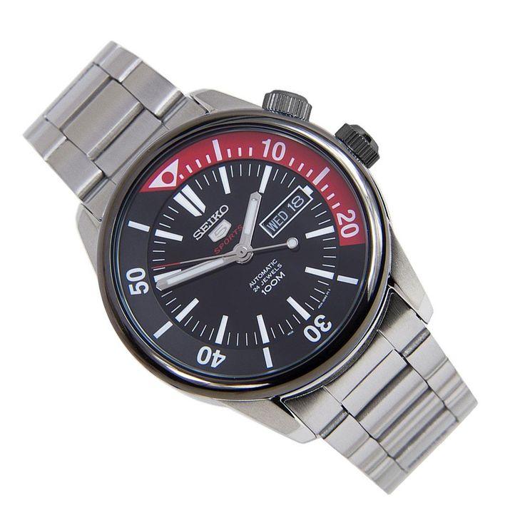Sports Watch Store - Seiko 5 Sports SRPB29K1 SRPB29K Stainless Steel Bracelet Analog Male Watch, $179.00 (https://www.sports-watch-store.com/seiko-5-sports-srpb29k1-srpb29k-stainless-steel-bracelet-analog-male-watch/)