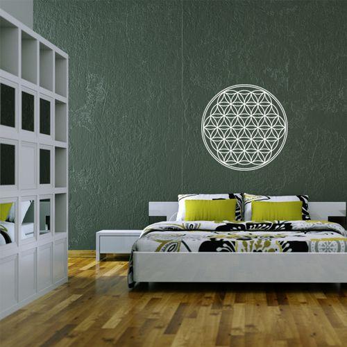 wandtattoo blume des lebens wandtattoos pinterest. Black Bedroom Furniture Sets. Home Design Ideas
