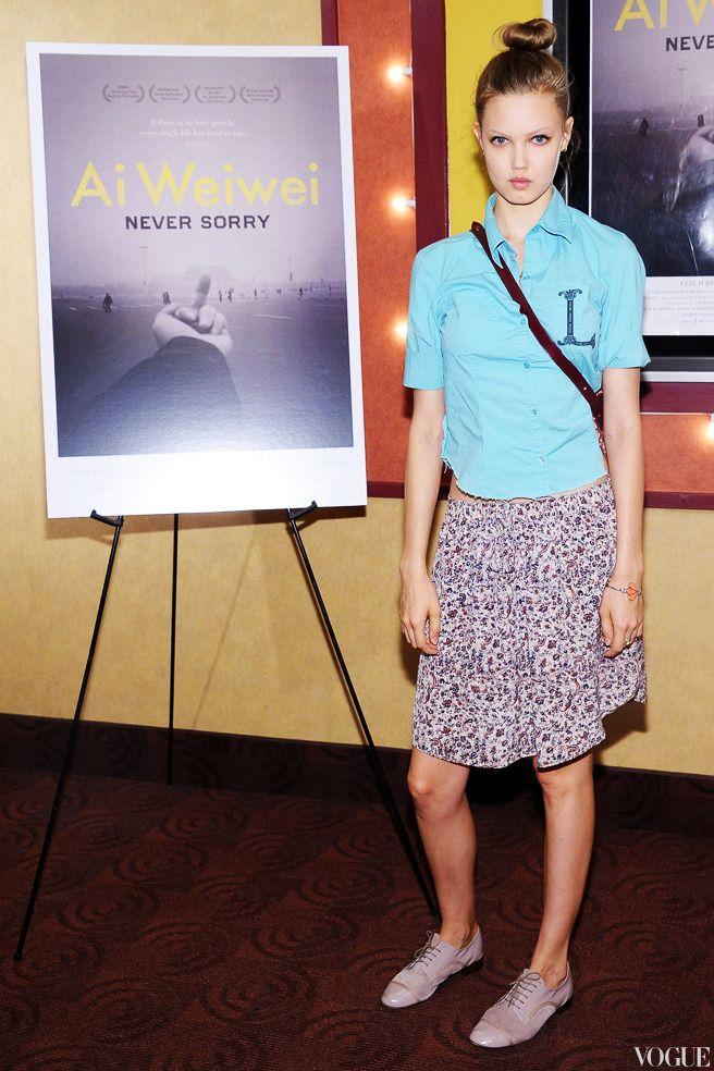 Линдси Уикссон на показе фильма «Ай Вэйвэй: Никогда не извиняйся»