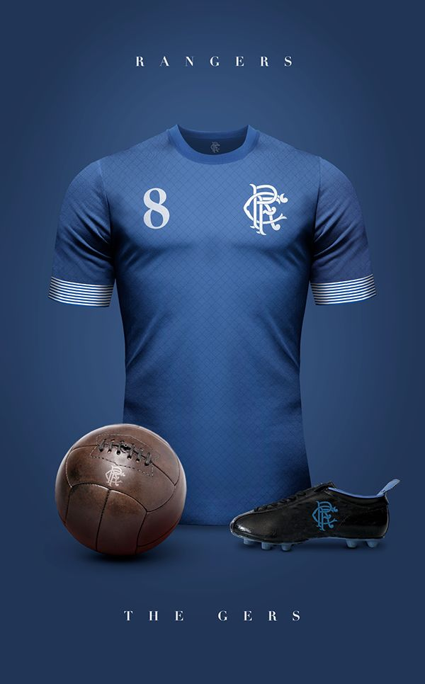 Glasgow Rangers - Vintage clubs on @behance