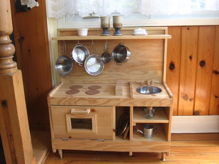 Diy Wooden Play Kitchen 35 best diy play kitchen images on pinterest | play kitchens, diy