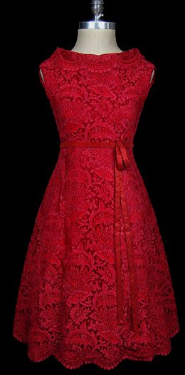 Valentino Red....vintage breathtaking detailed Valentino