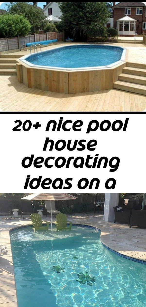 Nice Pool House Decorating Ideas On A Budget 27 36 Cool Small Pool Backyard Designs Ideas On A Budget Sometimes Kid S R Pool House Decor Cool Pools Pool House