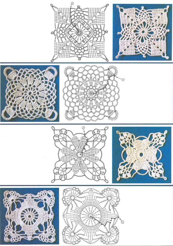 squares - be sure to click the arrows at the top - hundreds of motifs.  Then the index to the left has numerous other categories such as doilies, clothing, etc