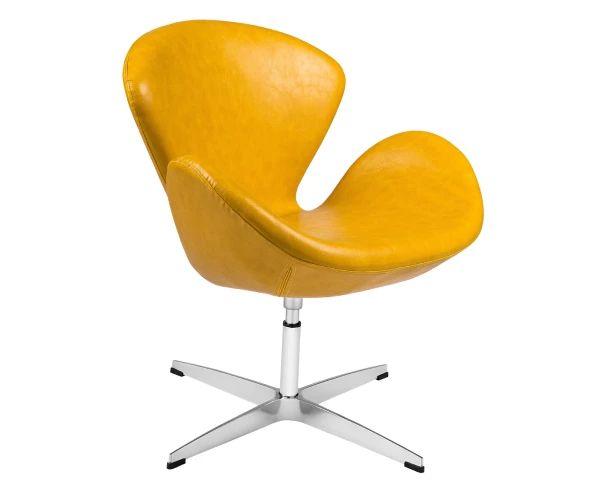 Poltrona Swan - Amarelo Brilho