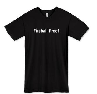 WP Engine's Fireball Proof T-shirt #design #startup #tshirt