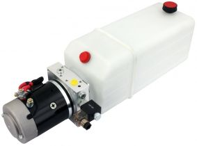 POWER-PACK (M-P-T) 12V/2KW/2,6ccm  5L-Tank - 1 x einfachwirkend POWER-PACK (M-P-T) 12V/2KW/2,6ccm  5L-Tank - 1 x einfachwirkend