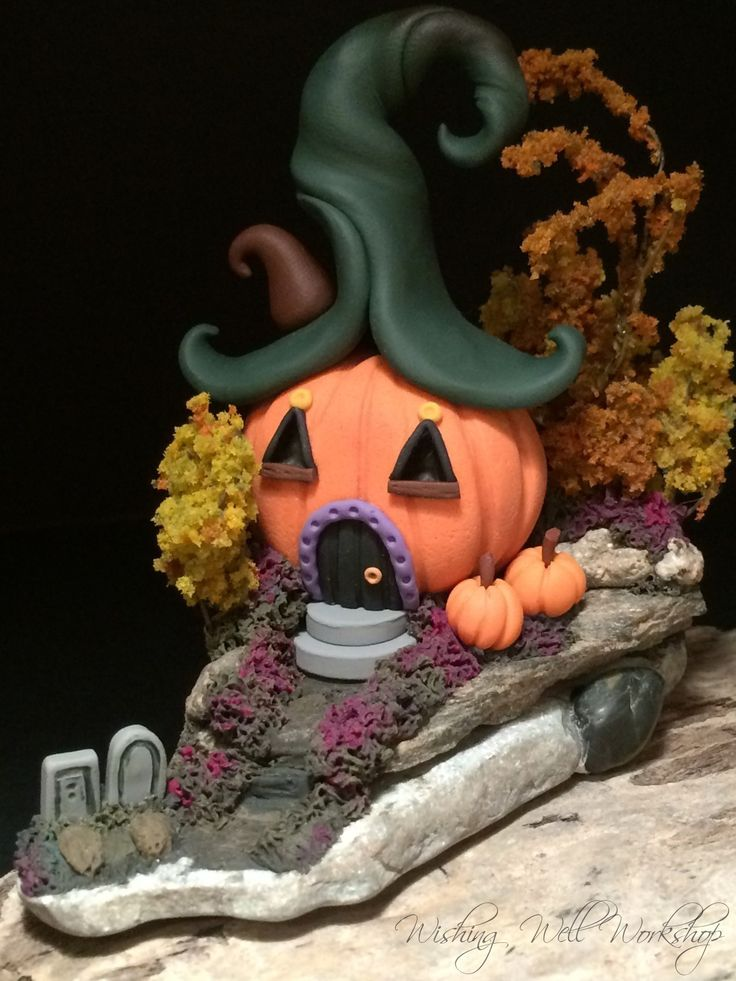 Polymer Clay Halloween House-Wishing Well Workshop