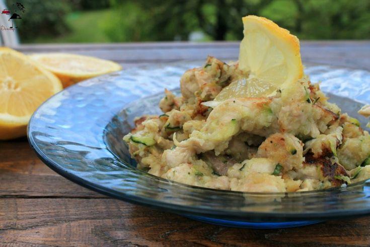 straccetti di pollo e zucchine