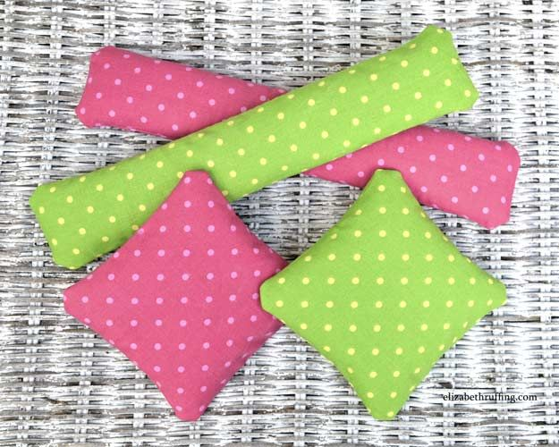 Tutorial DIY Catnip squares and cigars and kickers by Elizabeth Ruffing - Cat kitty toys