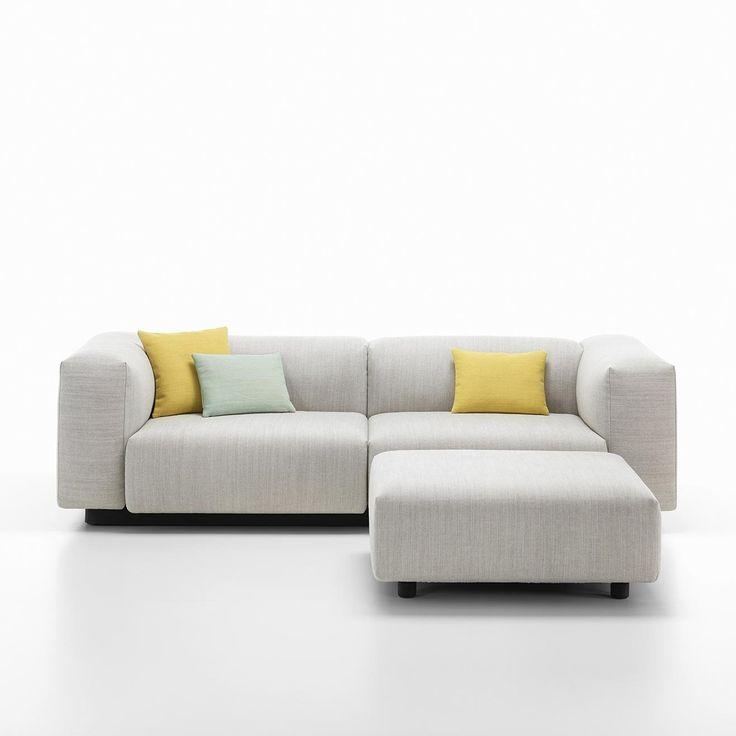 Sofa Covers The Soft Modular Sofa is Jasper Morrison us new interpretation of the low slung modular sofa with a horizontal emphasis