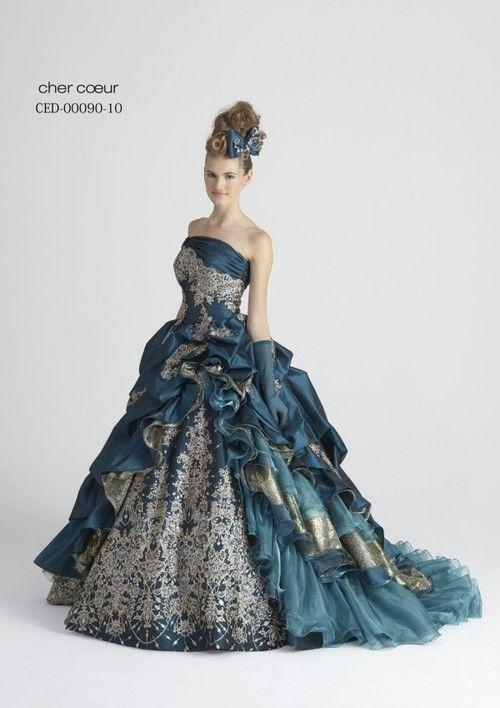 dball ~ dress ballgown I love the vintage look it has