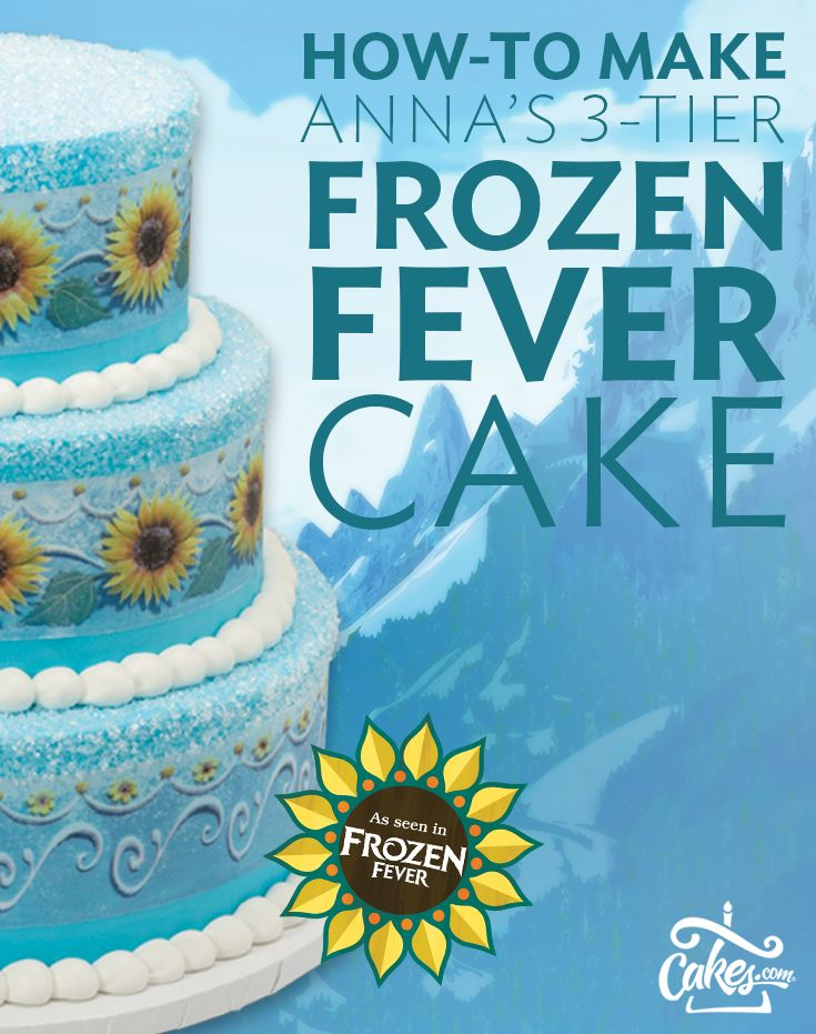 29 best Frozen Cakes and Cupcakes images on Pinterest Birthdays