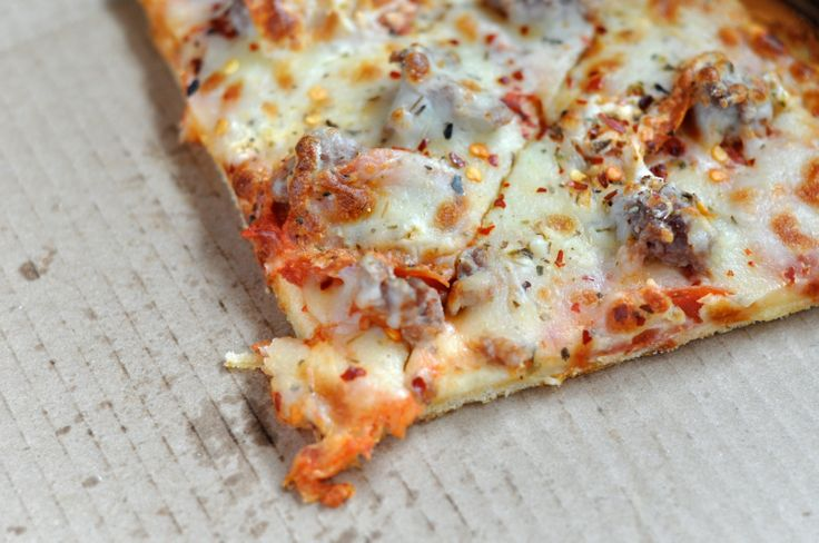 Portland's most popular pizza delivery and take out joints—cold, the next day.