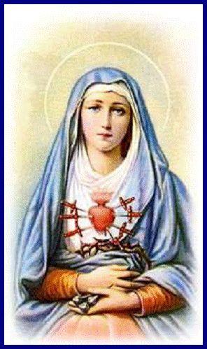 Puntadas marianas: Virgen de los Dolores 15 de Septiembre