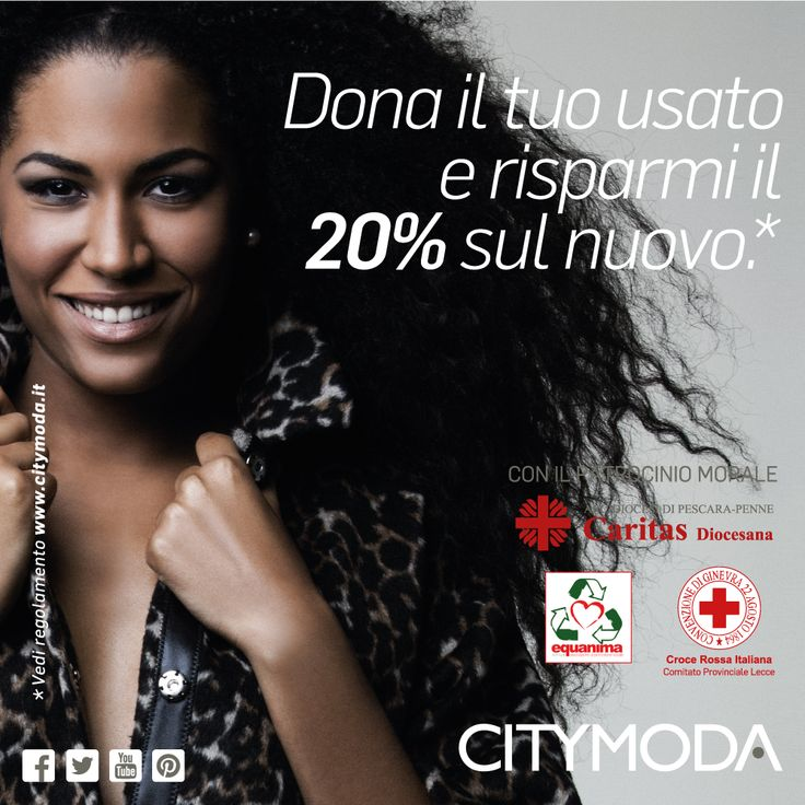 Vedi regolamento su www.citymoda.it