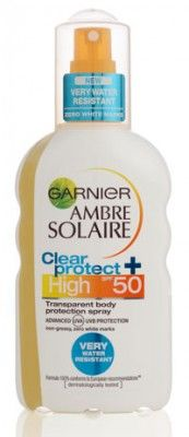 Ambre Solaire Clear Protect Spray SPF50 200 ml ::