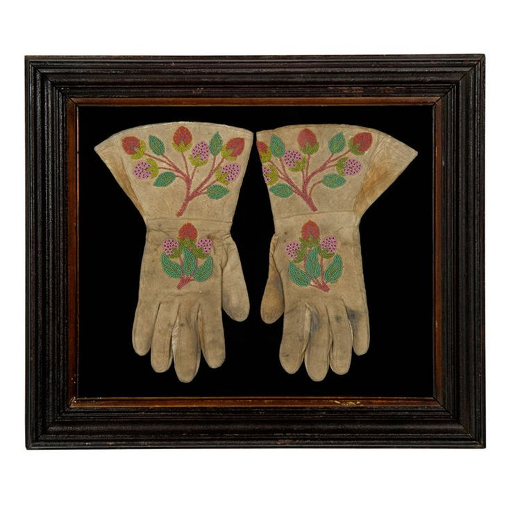 american indian beadwork gloves