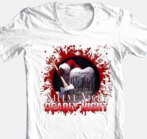 Silent-Night-Deadly-Night-T-shirt-Free-Shipping-Christmas-horror-movie-tee