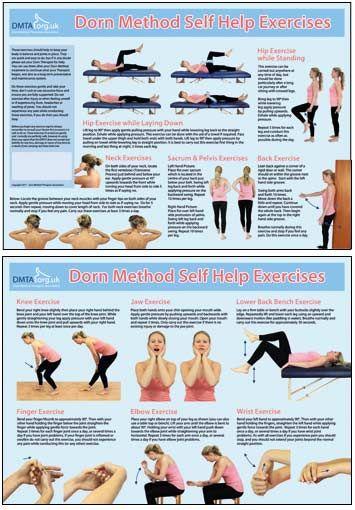 Dorn Method Self Help Exercises