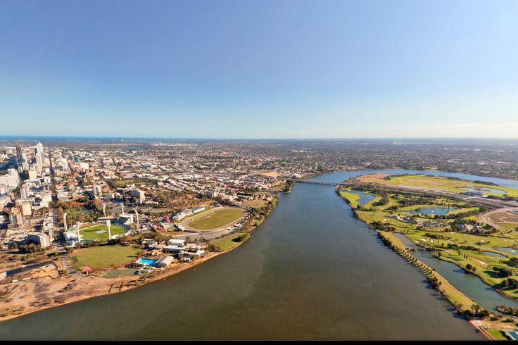 """Perth Aerial View""  Our city is constantly expanding and evolving, right before our eyes!"