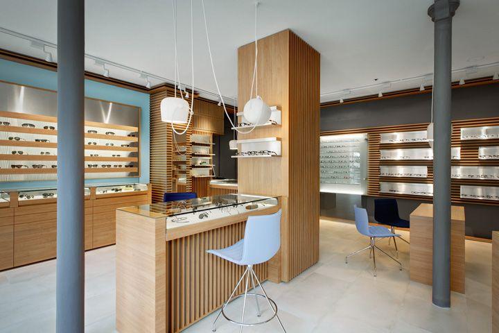 Thomas Opticien Optical shop by Pisi Design Studio Paris