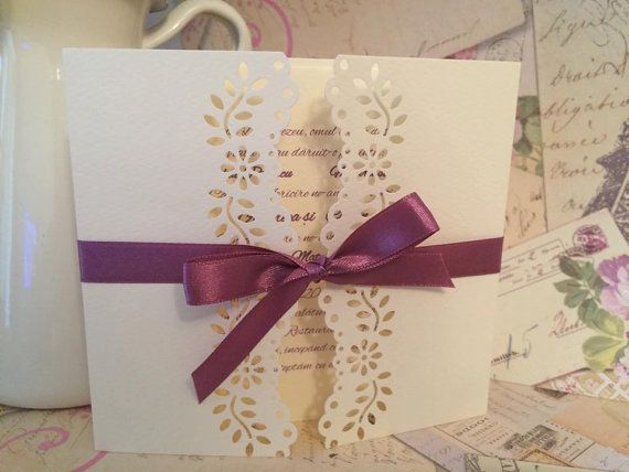 Wedding invitations/ handmade wedding by handmadebymaddy on Etsy