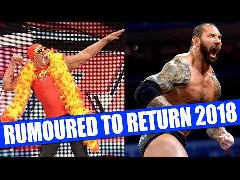 Wrestlers to Return in 2018  10 WWE RETURNS Rumored for 2018  WWE Wrestlers Rumoured To Return In 2018  Wrestlers Who Could Return in 2018  Wrestlers Who Might Be Returning to WWE in 2018  WWE Wrestlers That Might Return To WWE in 2018  WWE Wrestlers Who Could Possibly Return To WWE  10 Wrestlers Returning To WWE  10 WWE Wrestlers to Return