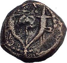 Jewish King ALEXANDER JANNAEUS Ancient Jerusalem WIDOWs MITE Bible Coin i62714 http://lukebadcoe.blogspot.com/2017/07/jewish-king-alexander-jannaeus-ancient_82.html