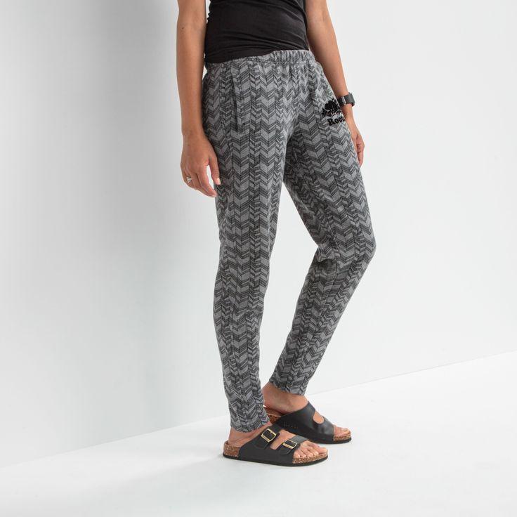 Hatch Slim Lodge Sweatpant   Roots Sweatpants - medium grey mix