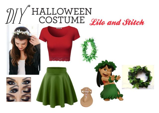 120 best cute costumes images on pinterest halloween prop comic lilo and stich by bella skye liked on polyvore featuring black rivet solutioingenieria Images
