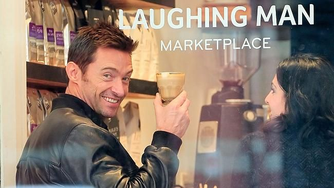 laughing man coffee | Now you can have Hugh Jackman's Laughing Man Coffee and Tea at home