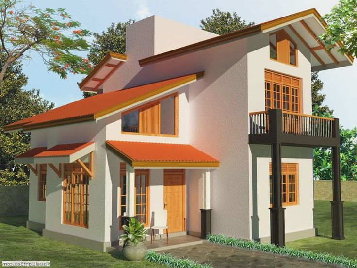 Simple house designs in sri lanka house interior design for Simple modern house models