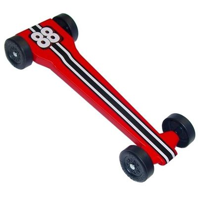 Pinewood Derby Cars, Parts & Free Design Templates