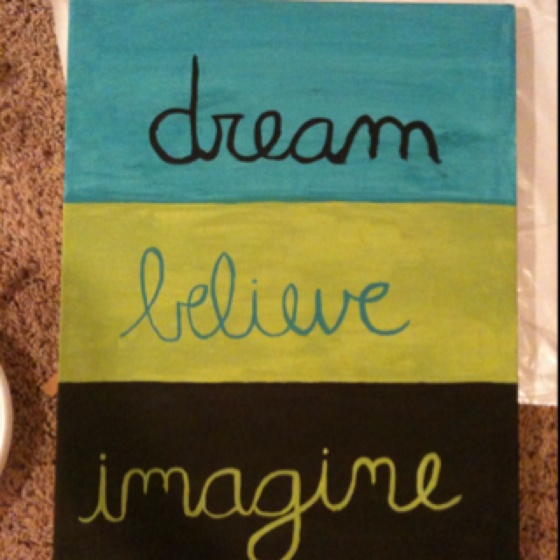 Canvas painting I just made!