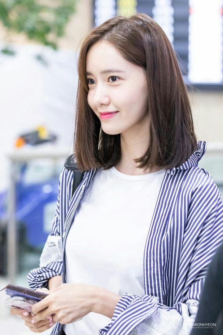 Yoona Snsd Girls Generation Kpop Gaya Rambut Pendek Gaya Rambut Ide Potongan Rambut