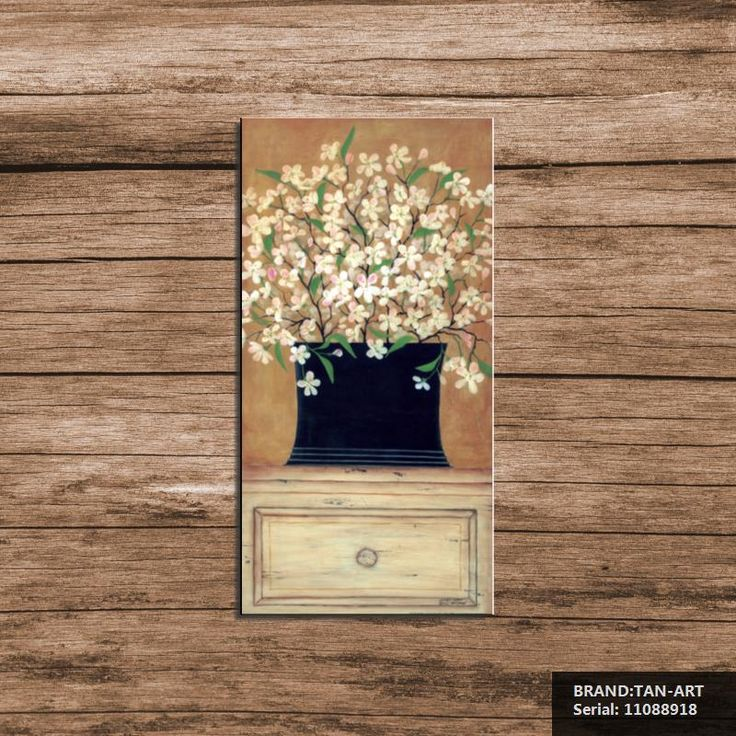 Во всем небо Цветок Современная Живопись маслом Рисование искусство Спрей Без Рамы Холст Бескаркасных провода фото действия миниатюрный 11088918