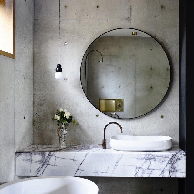Serendipity Refined Blog Contemporary Apartment Small Bath Makeover: 1000+ Ideas About Powder Room Mirrors On Pinterest