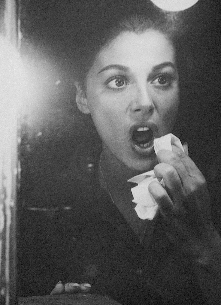 Pier Angeli, photographed by James Dean, 50s