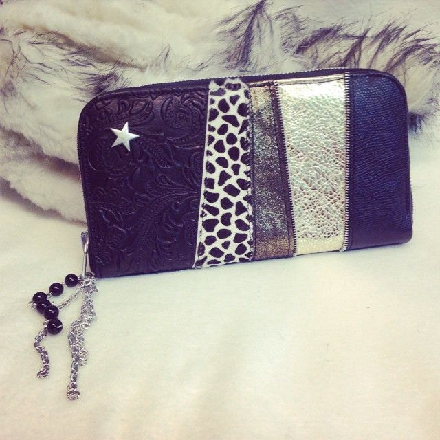 #unique #handmade #leather #evileve #wallet #ooak #fashion for #sale #evilevedesign
