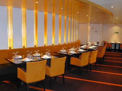 Fahrenheit 555 is the Carnival Breeze's specialty steakhouse.