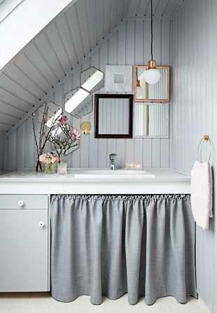 Nyt liv på badeværelset for kun 3.000 kr. | Boligmagasinet.dk small bathroom…