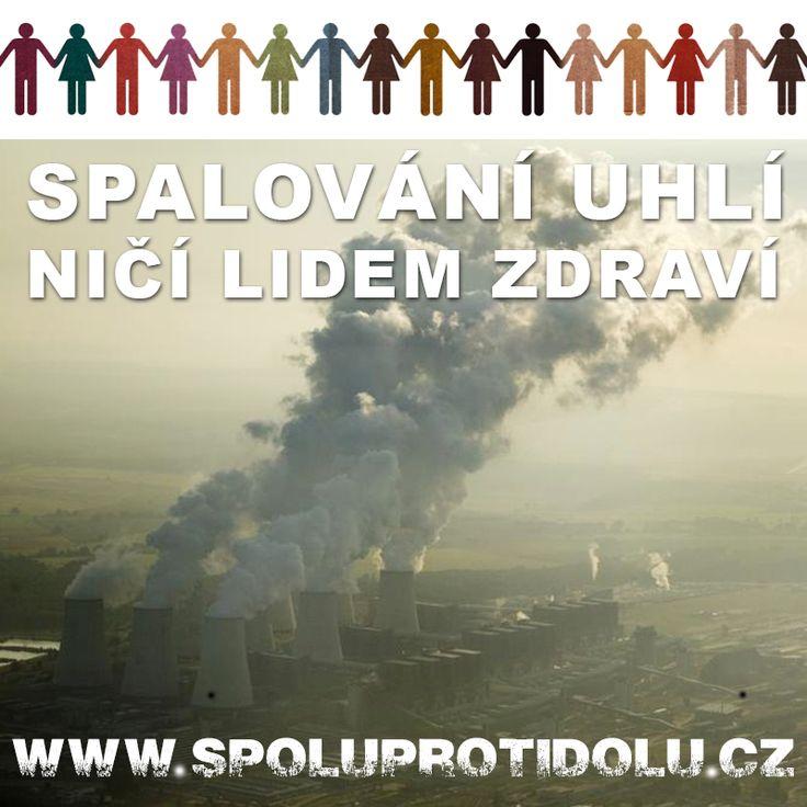 Spojte se s námi do lidského řetězu proti uhlí ►►► http://www.spoluprotidolu.cz      #spoluprotidolu #Greenpeace