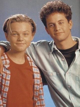 Leonardo DiCaprio with Kirk Cameron