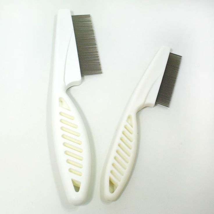 2 Sizes Stainless Steel Pet Flea Cat Dog Comb Handle Needle Pet Comb Portable Beauty Practical Dog Brush Product Wholesale